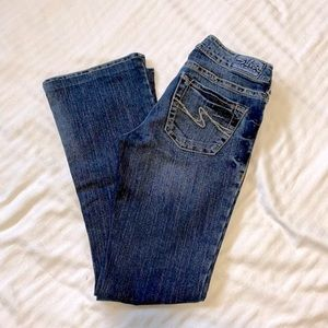 Silver Jeans Aiko Flare Stretch Jeans sz 26